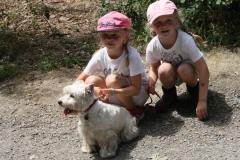 Egal ob Groß oder klein, selbst ein Hundchen durfte bei uns sein! Fein!