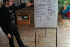 Irgendwo in Wallau haben wir uns dann in einem selbst durchgeführten Workshop zu Dramen und Sagen fortgebildet