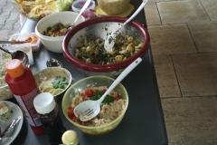 Also ran an das umfangreiche Salat-