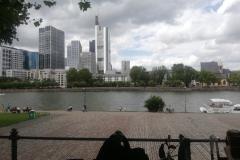 Frankfurt lockte mit seiner Skyline die Taunusmusikanten an
