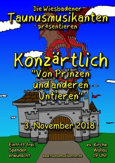 Konzert am 3.11.2018